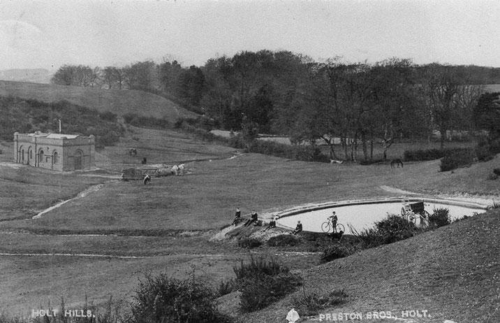 Spout Hills, 1883