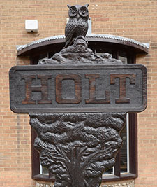Holt town sign, Norfolk